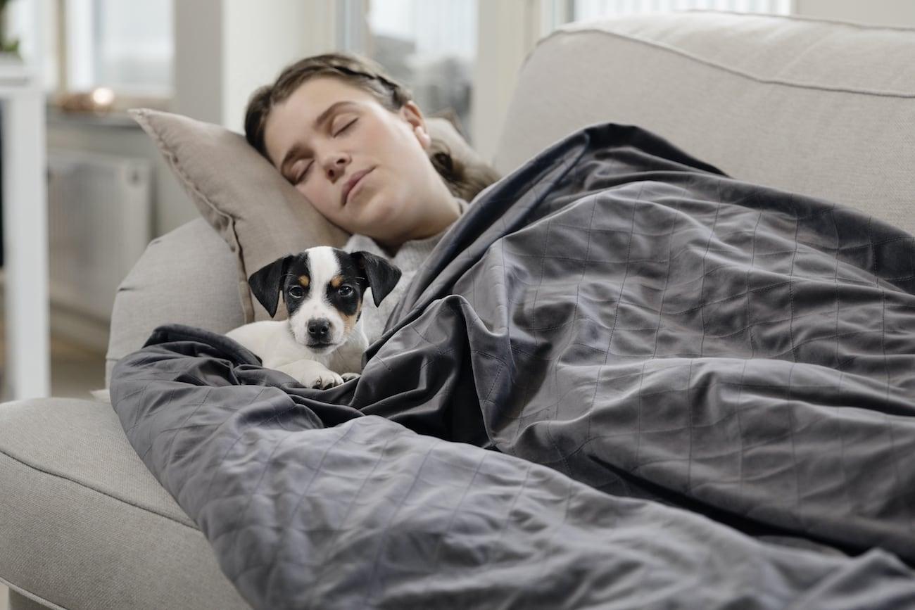 Zen Blanket is the secret to a better sleep