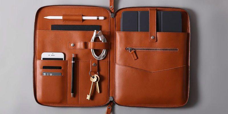 Nomad Leather iPad Pro Organizer