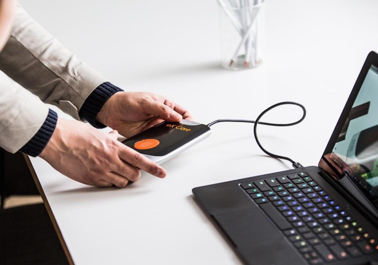 eX Core Portable Laptop Graphics Card