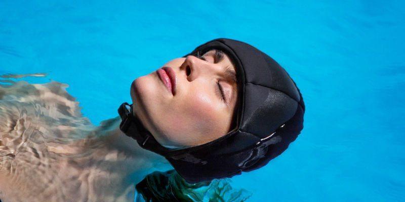 Float meditation helmet