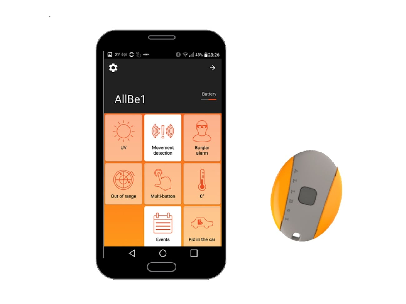 AllBe1 Plus All-In-One Security Device