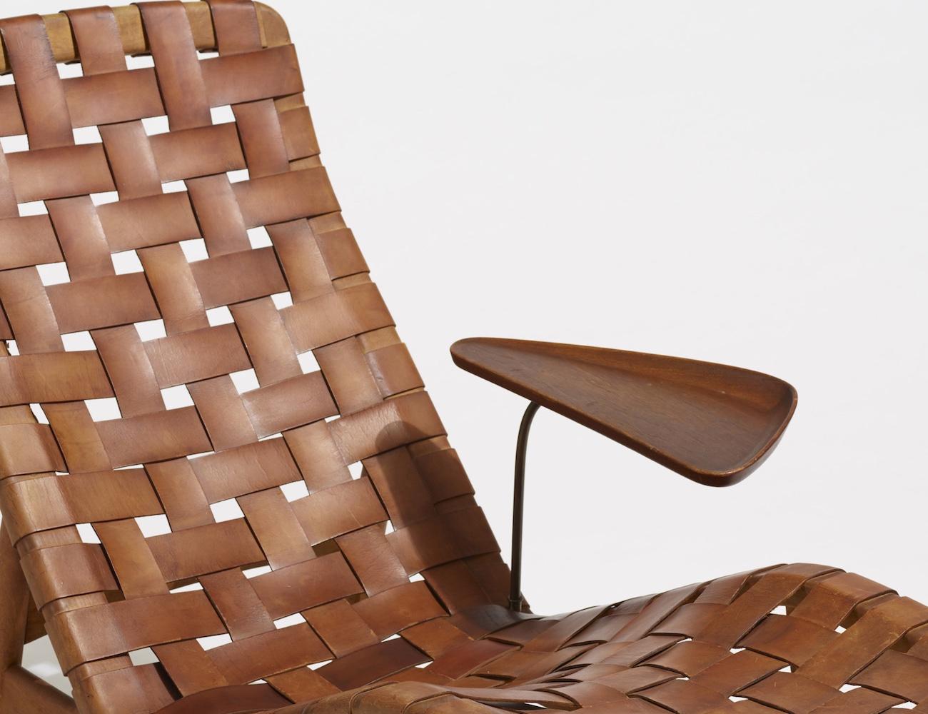 Arne Vodder Sculptural Chaise Lounge Chair