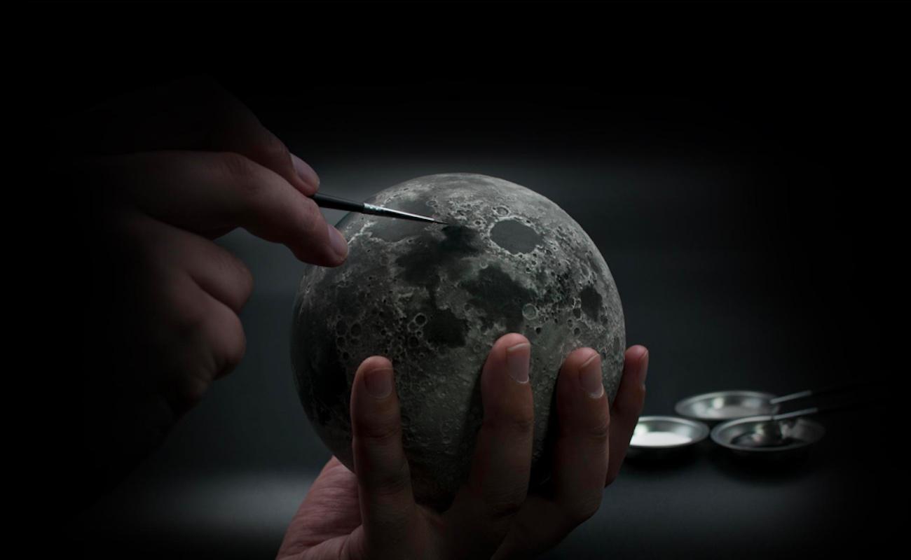AstroReality Lunar Pro AR Enabled Moon Model