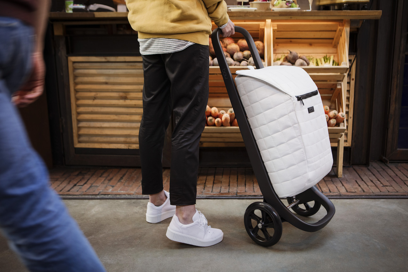BOW Bag On Wheels – Interchangeable Shopping Trolley
