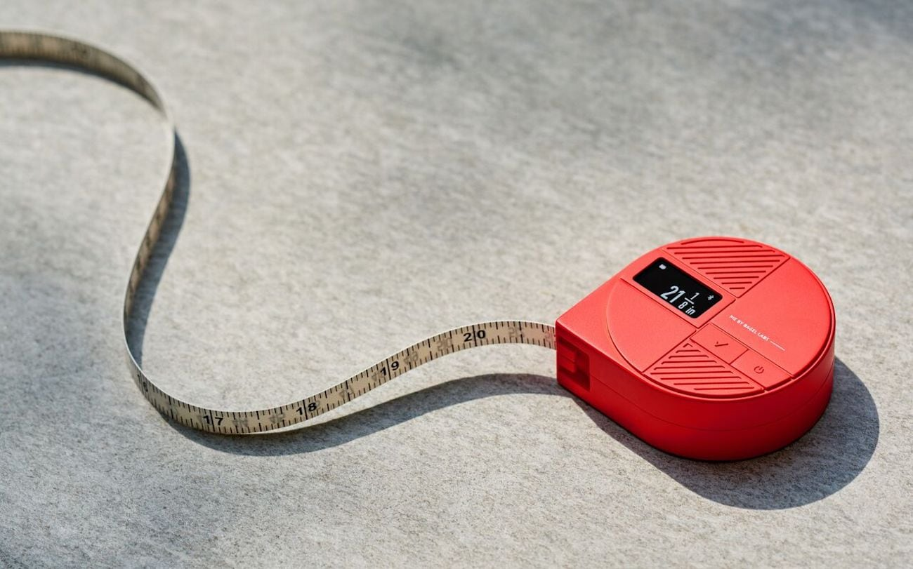 Bagel Labs PIE Smart Body Tape Measure