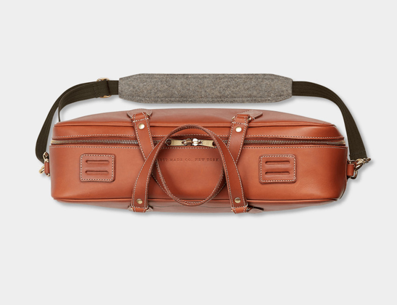 Best Made Three-Day Leather Brief Bag