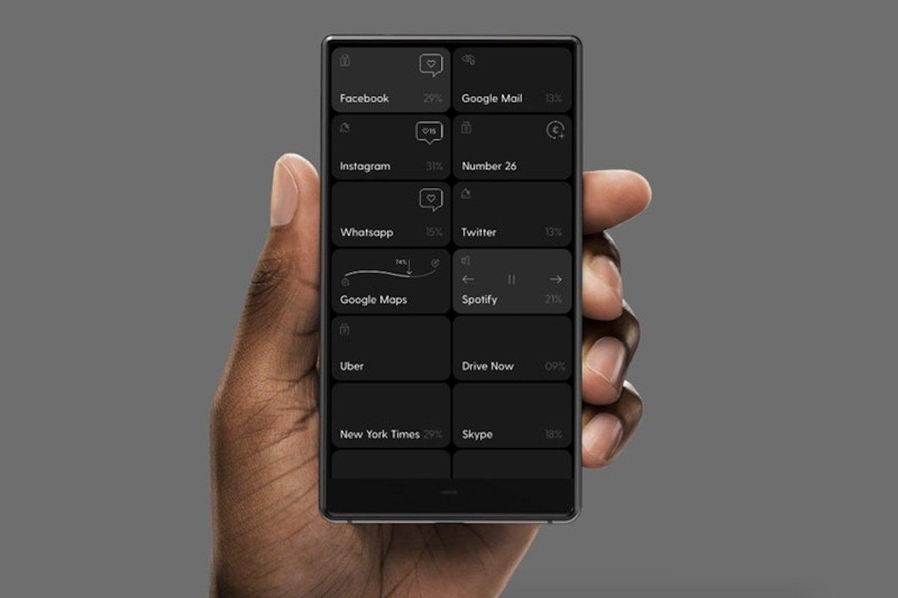 BllocZero18 Plain and Minimalistic Smartphone