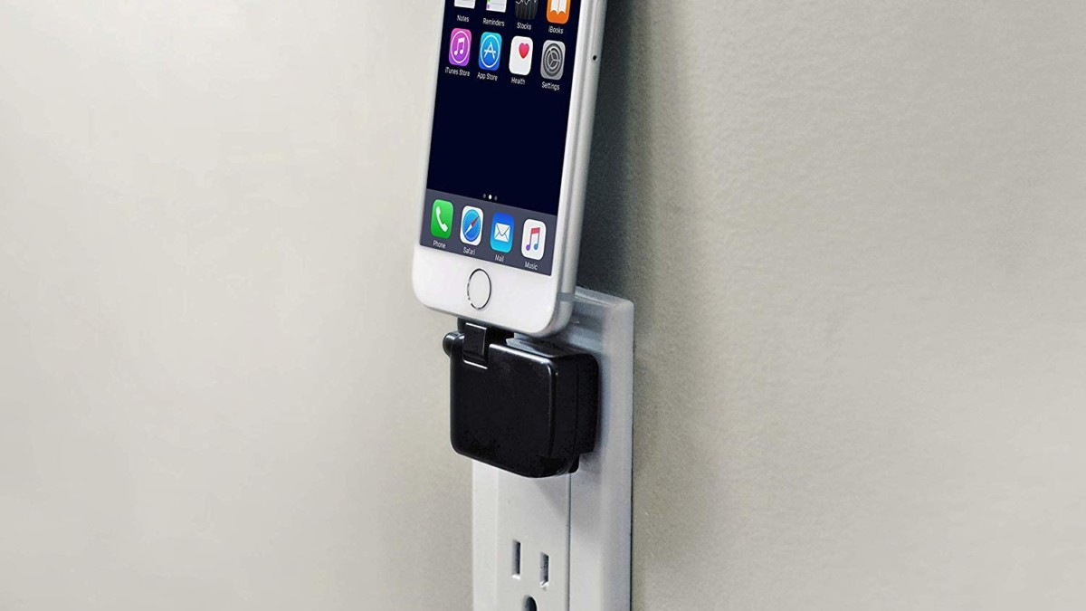 Chargerito Tiny Phone Charger fits in your pocket or on a keychain