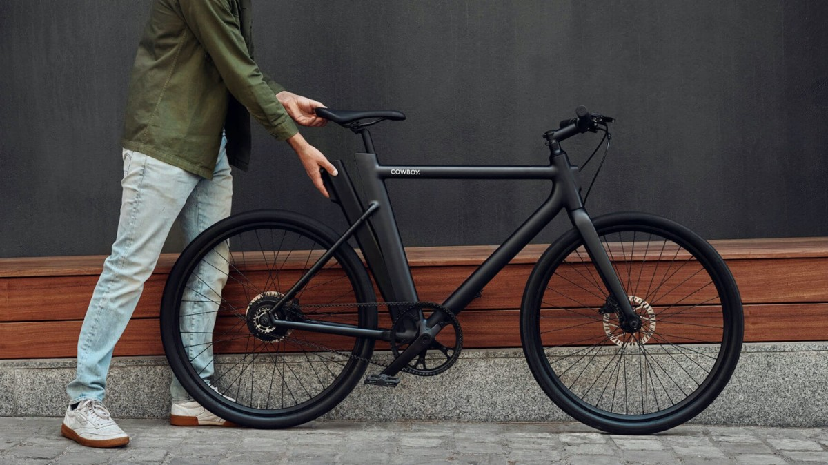 Cowboy 3 smart electric bike offers crash detection