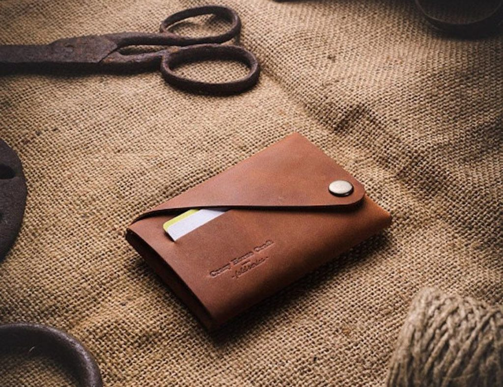 Crazy+Horse+Craft+Foldable+Leather+Wallet