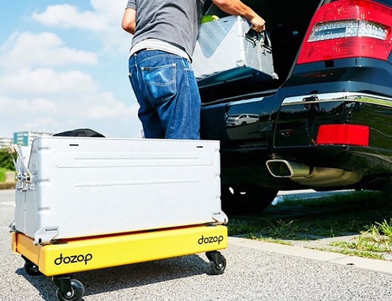 Dozop Self Contained Utility Dolly