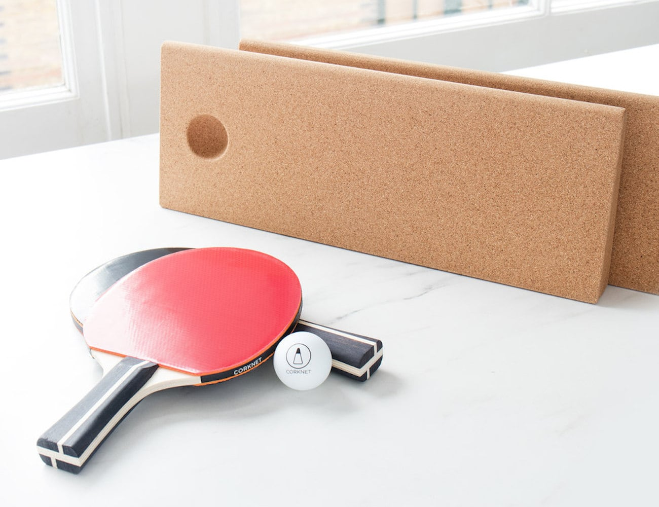 Corknet Portable Pop Up Ping Pong Set