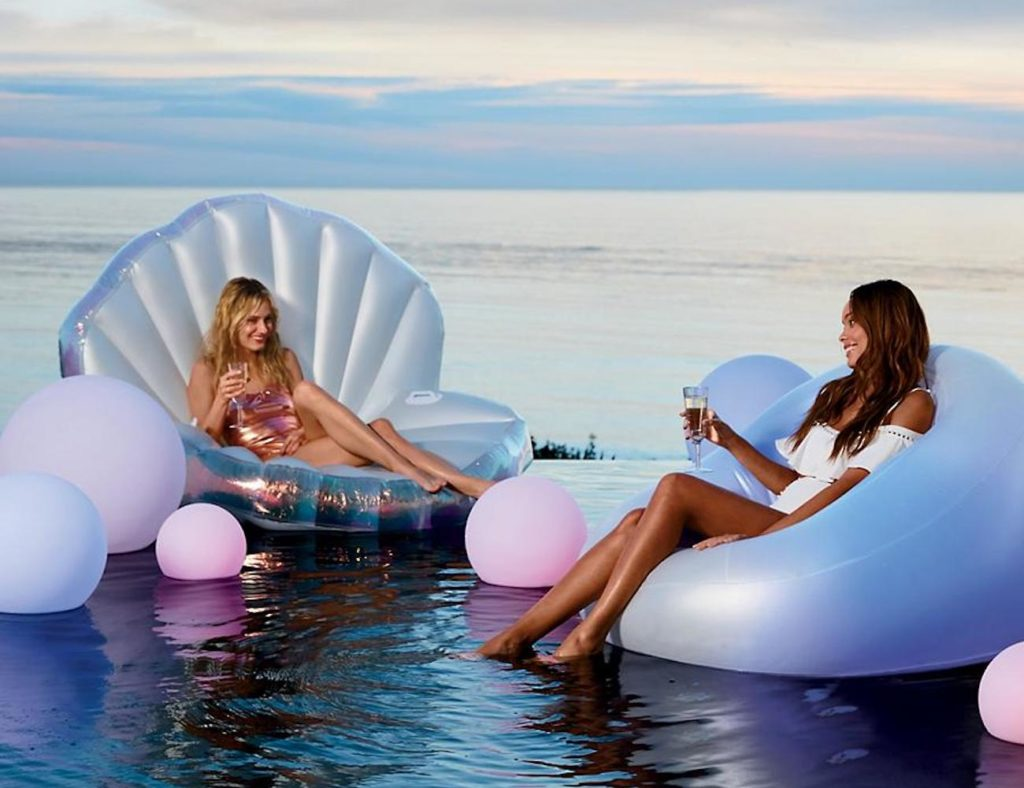 Frontgate+Glow+Float+Inflatable+Lounge+Chair