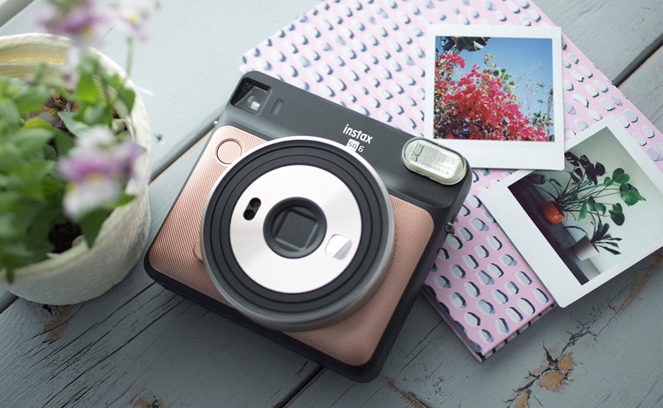 Fujifilm Instax SQ6 Square Format Analog Camera