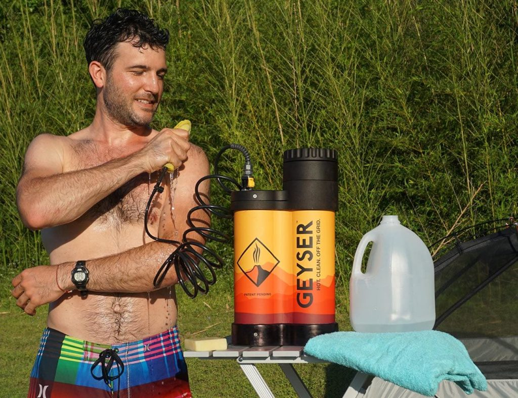 Geyser Portable Hot Shower System