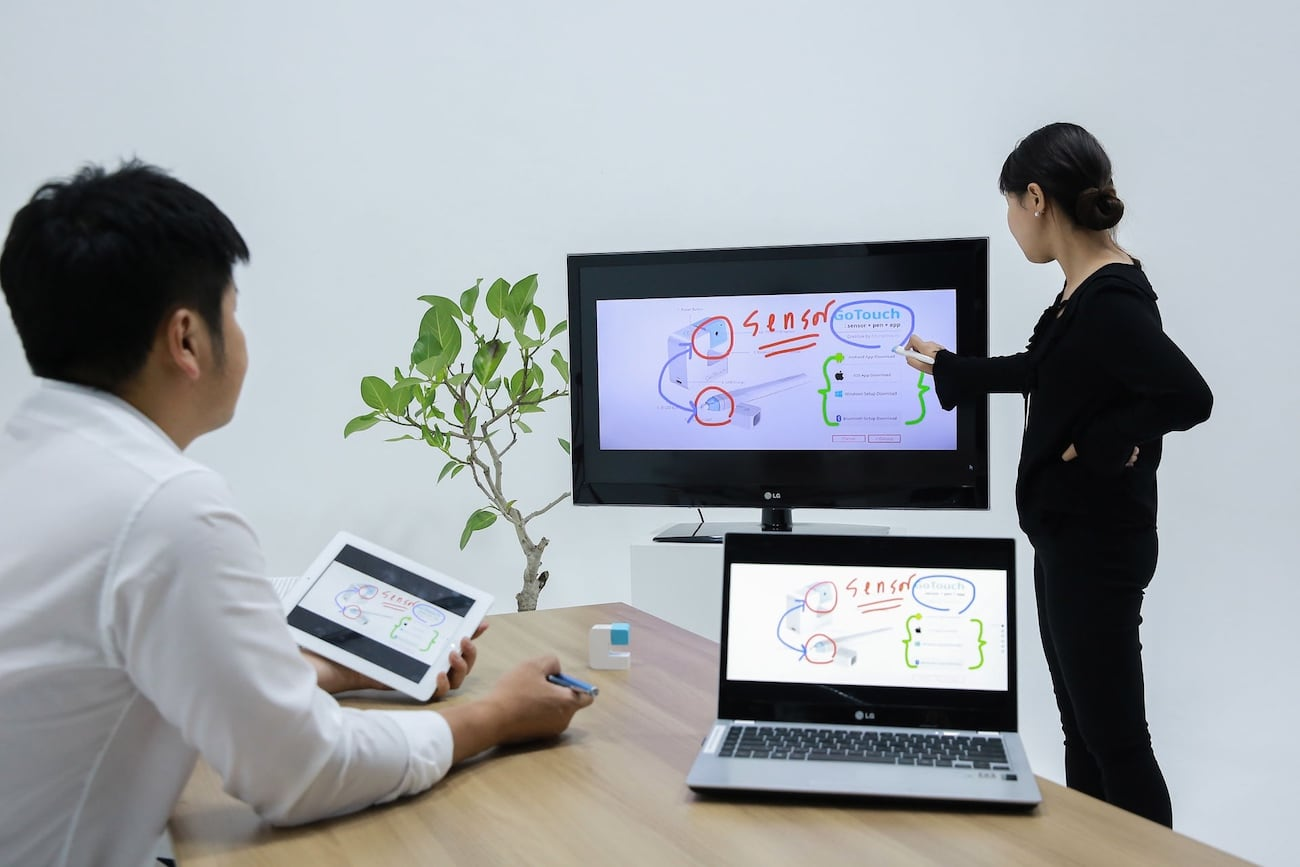 GoTouch Portable Interactive Whiteboard