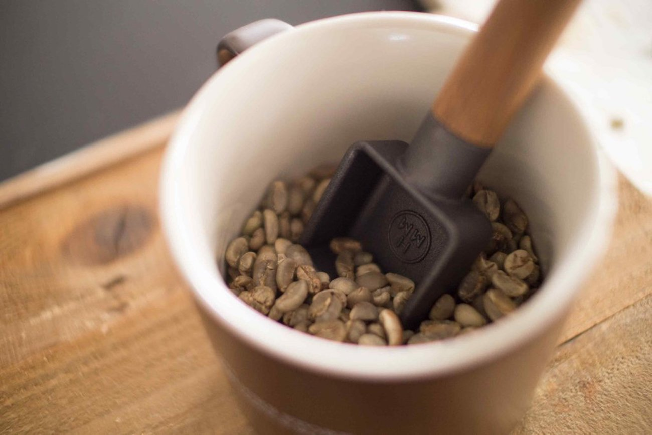 HMM Sqoop Cast Iron Coffee Scoop adds some weight to your coffee routine