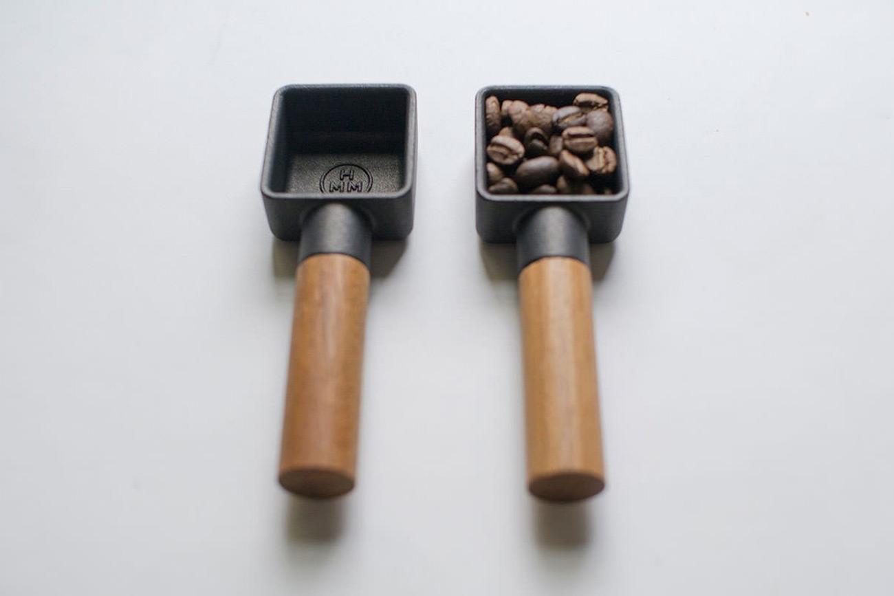 HMM Sqoop Cast Iron Coffee Scoop