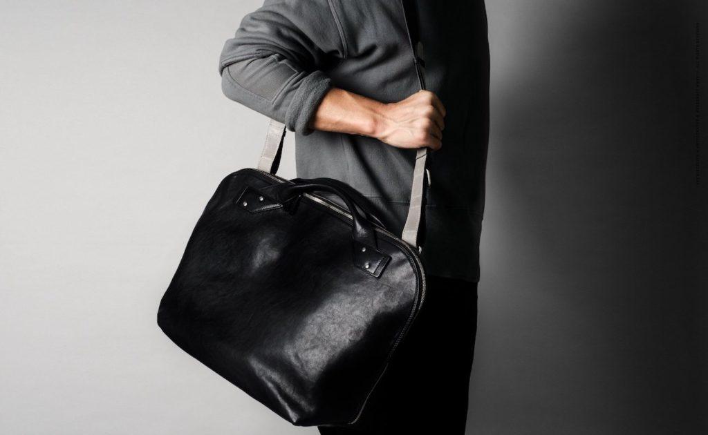 hardgraft+Collected+Leather+Shoulder+Bag