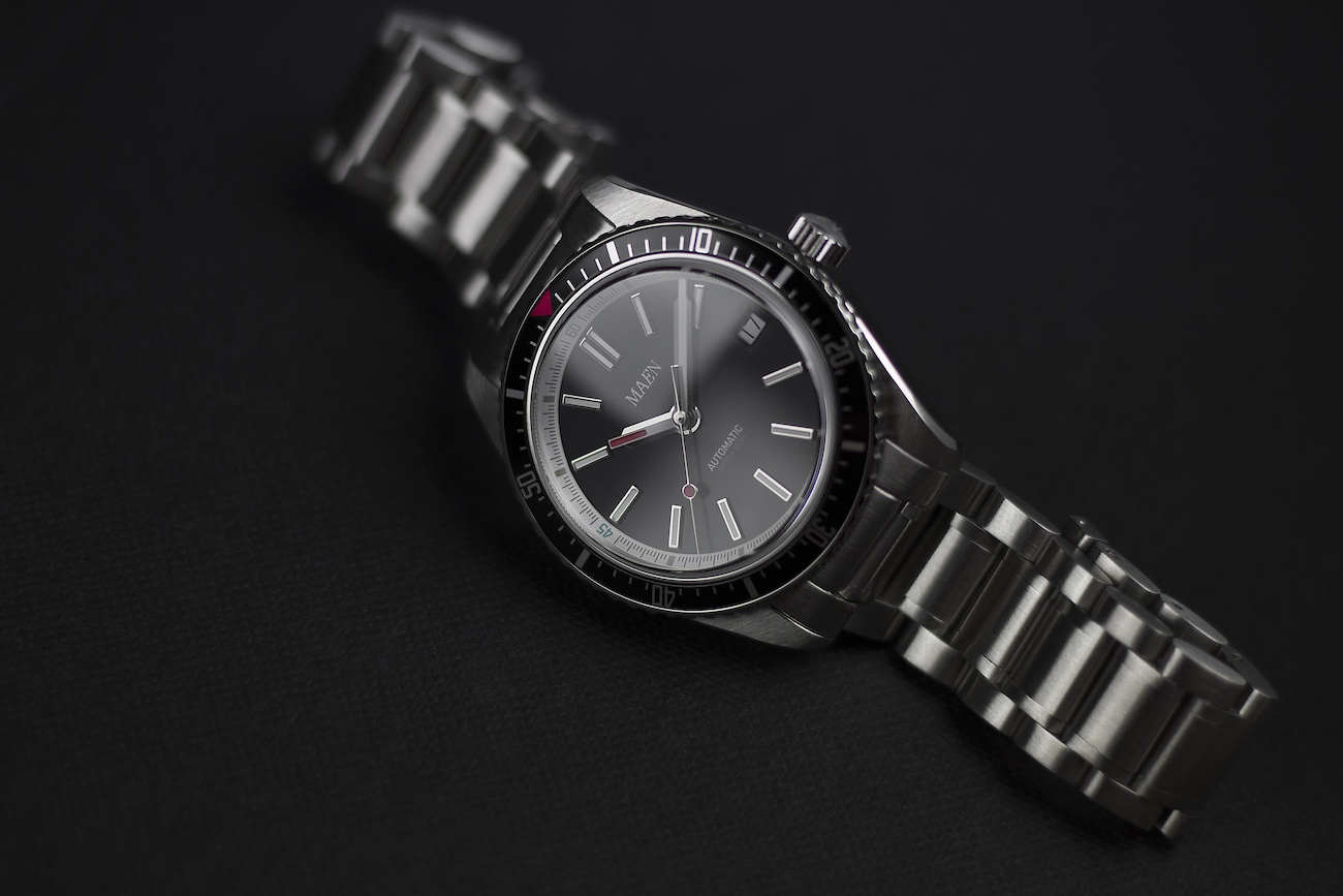 Hudson Automatic Vintage Inspired Dive Watch