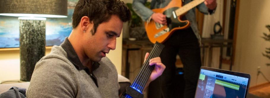Jamstik 12 is an exciting new MIDI instrument for guitar heroes