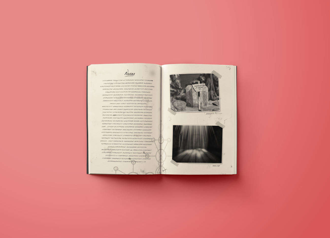 Journal 29 Revelation Interactive Book Game