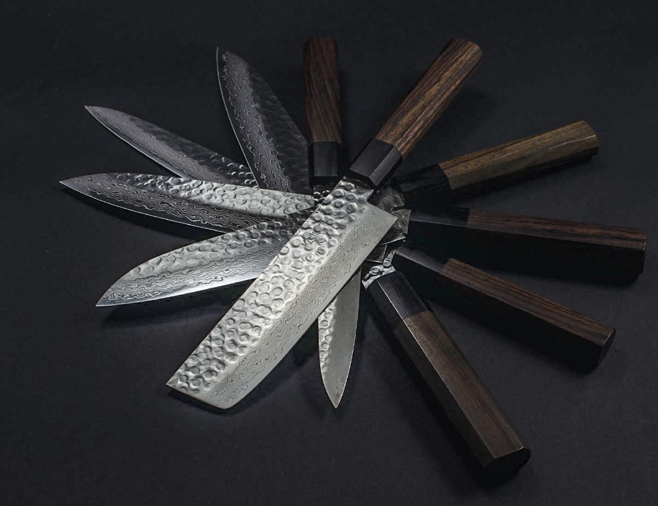 KATURA Premium Japanese Knife Collection