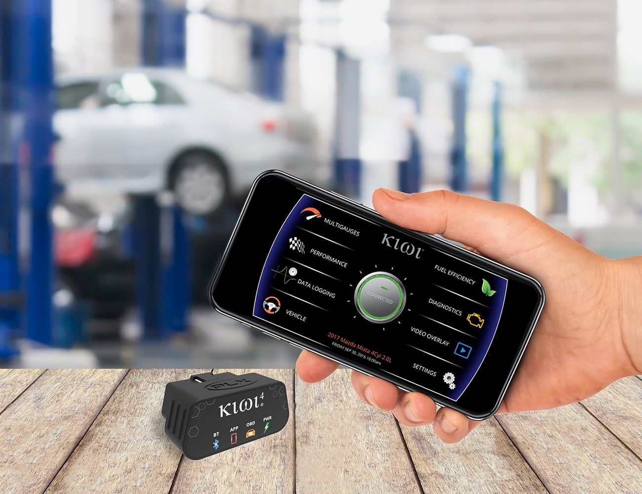 Kiwi 4 Smart Wireless OBD Device