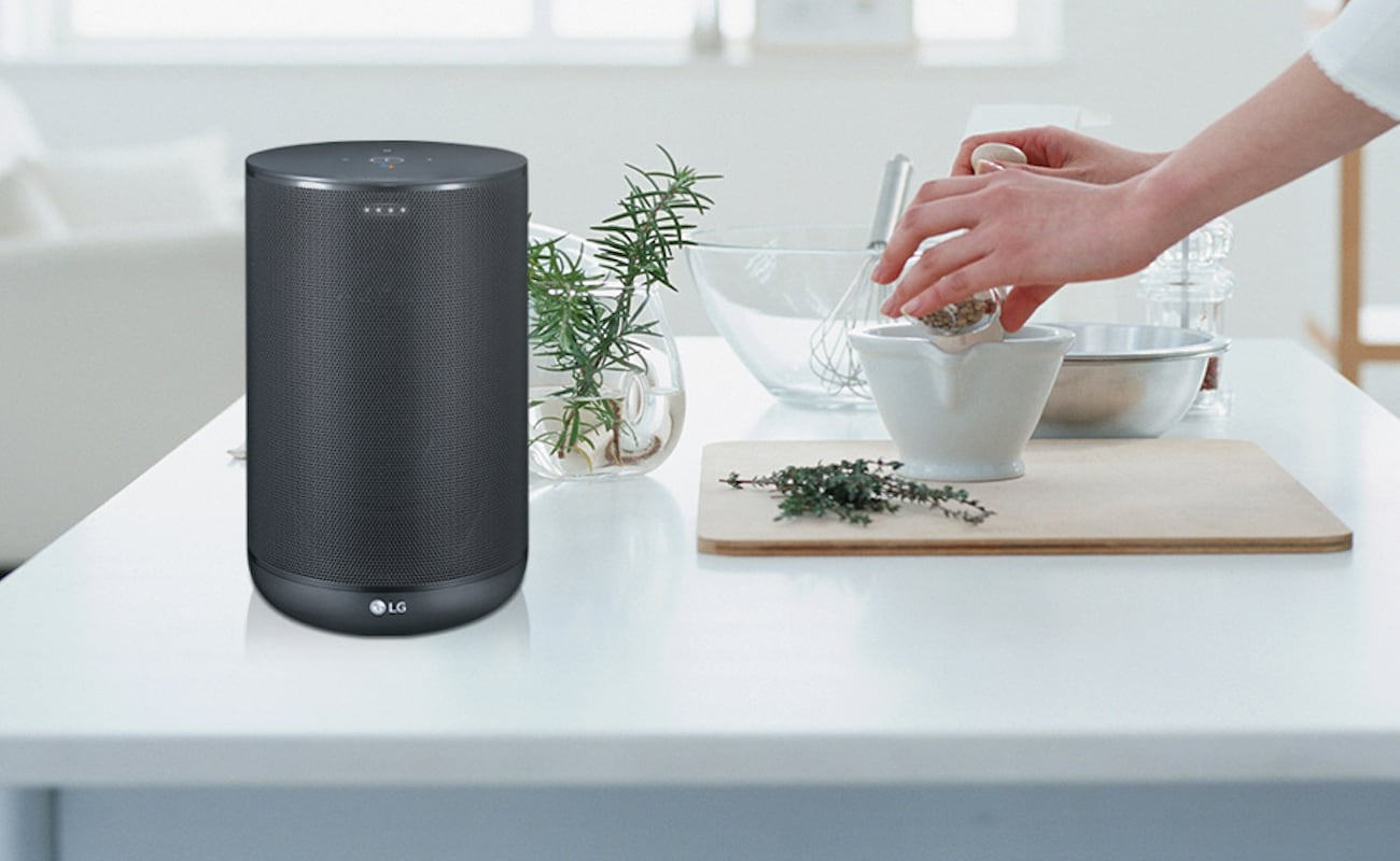 LG WK7 ThinQ Google Assistant Smart Speaker
