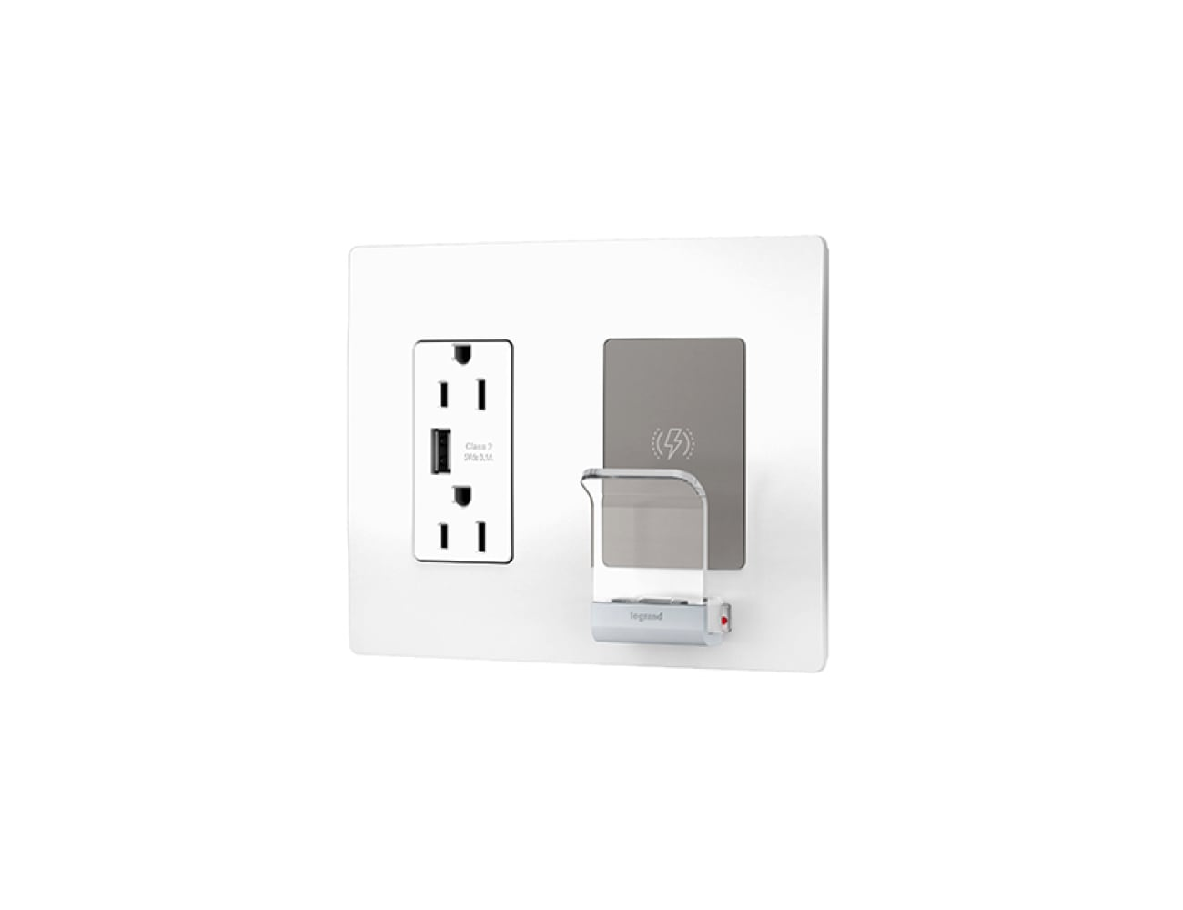 Legrand Radiant Wireless Charger Wall Plate