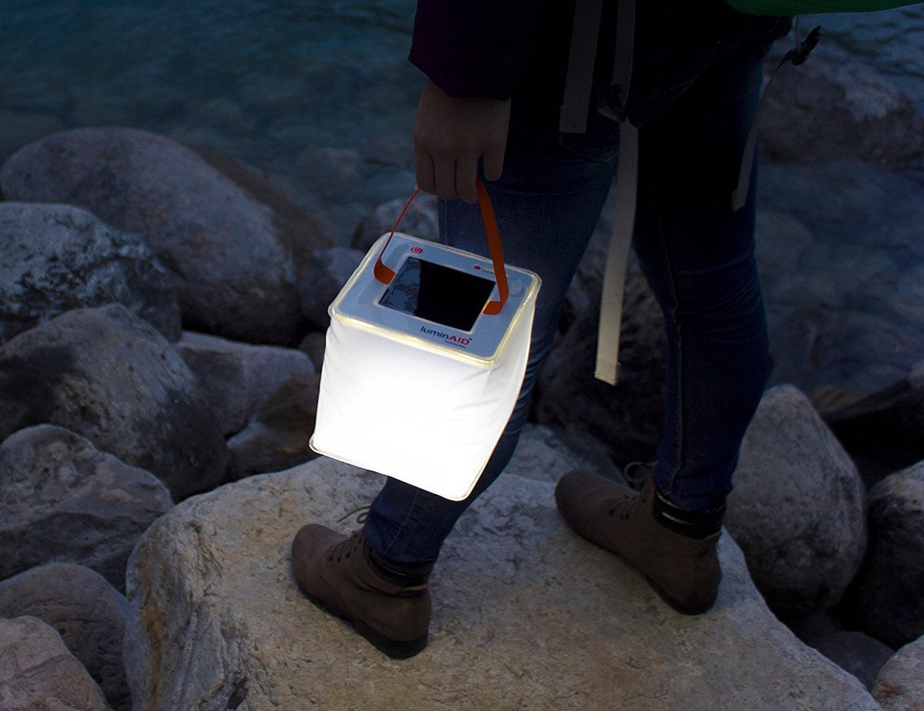 LuminAID 2-in-1 Solar Phone Charger and Lantern