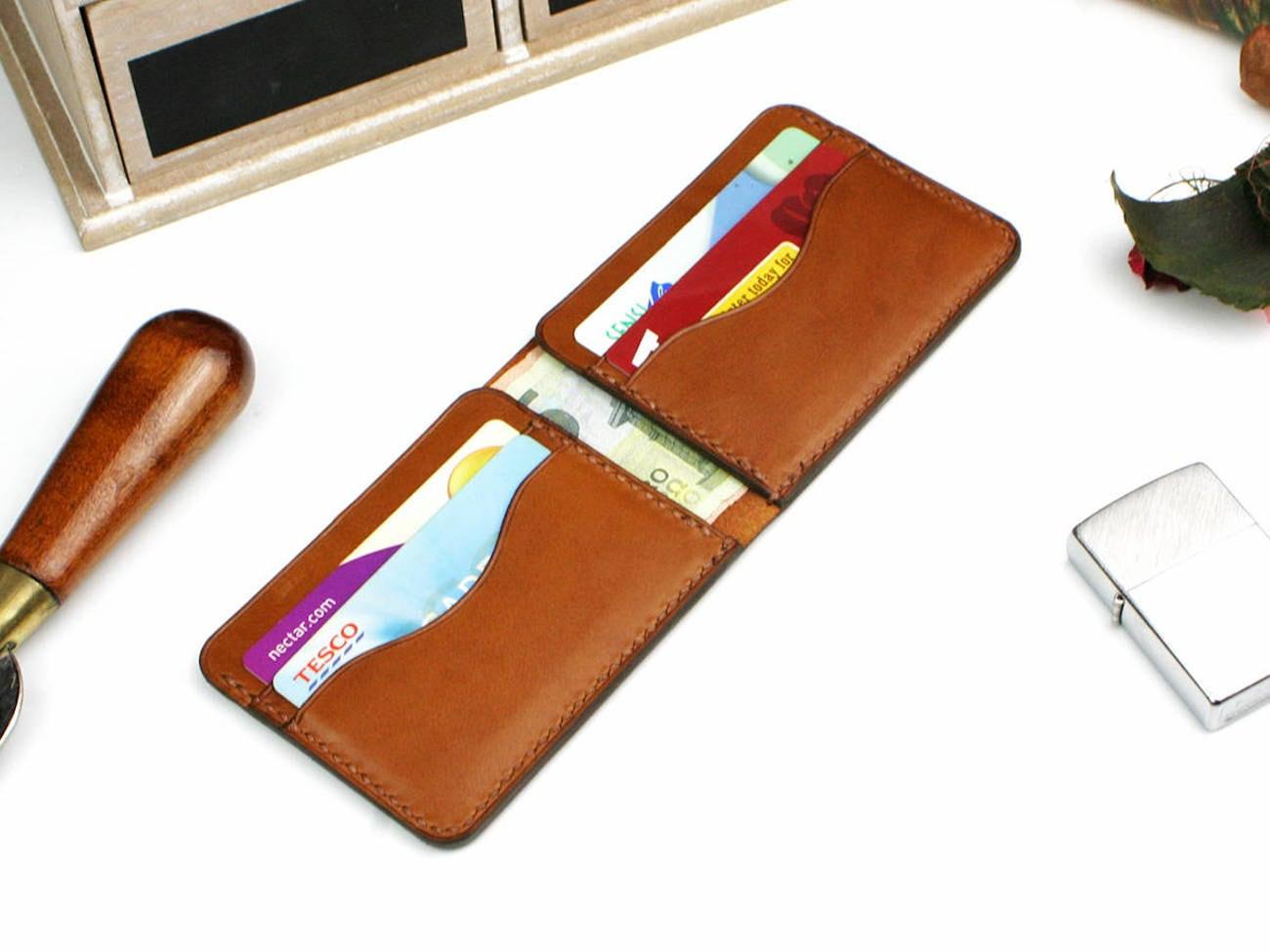 Mihai Handmade Minimalist Wallet