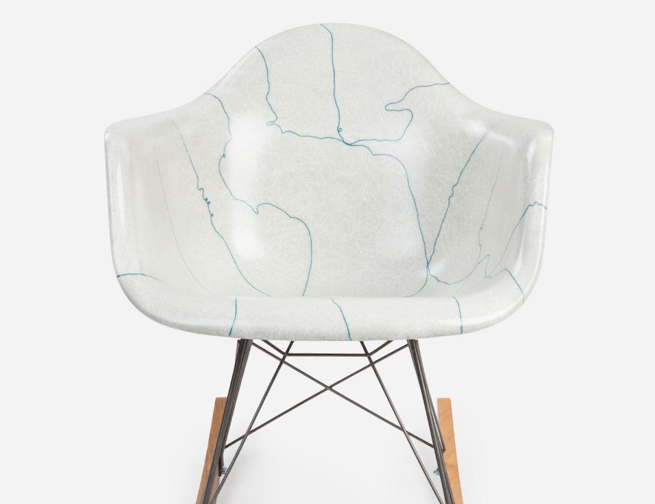 Modernica x Stance Arm Shell Rocking Chair