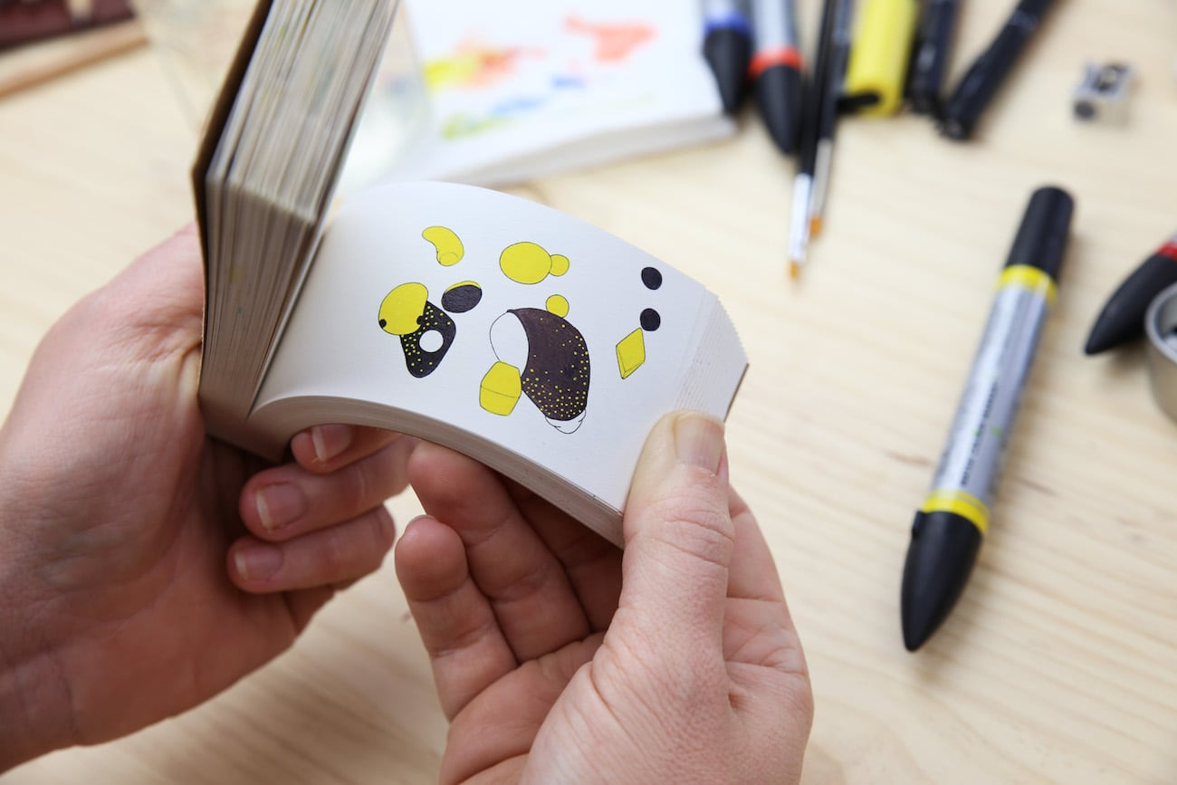 Molecularis Animated Coloring Flip Book