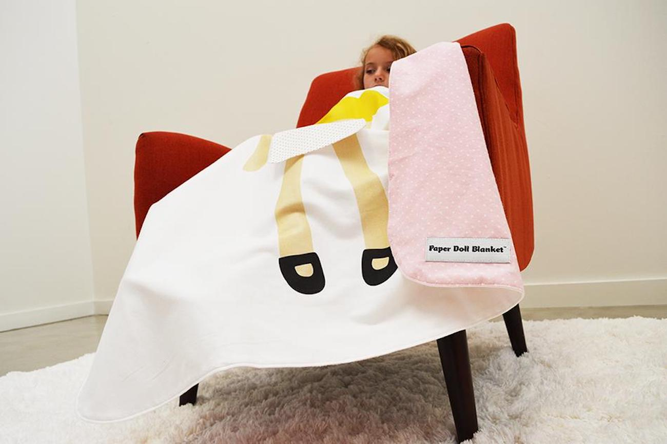 PD Babies Paper Doll Blanket