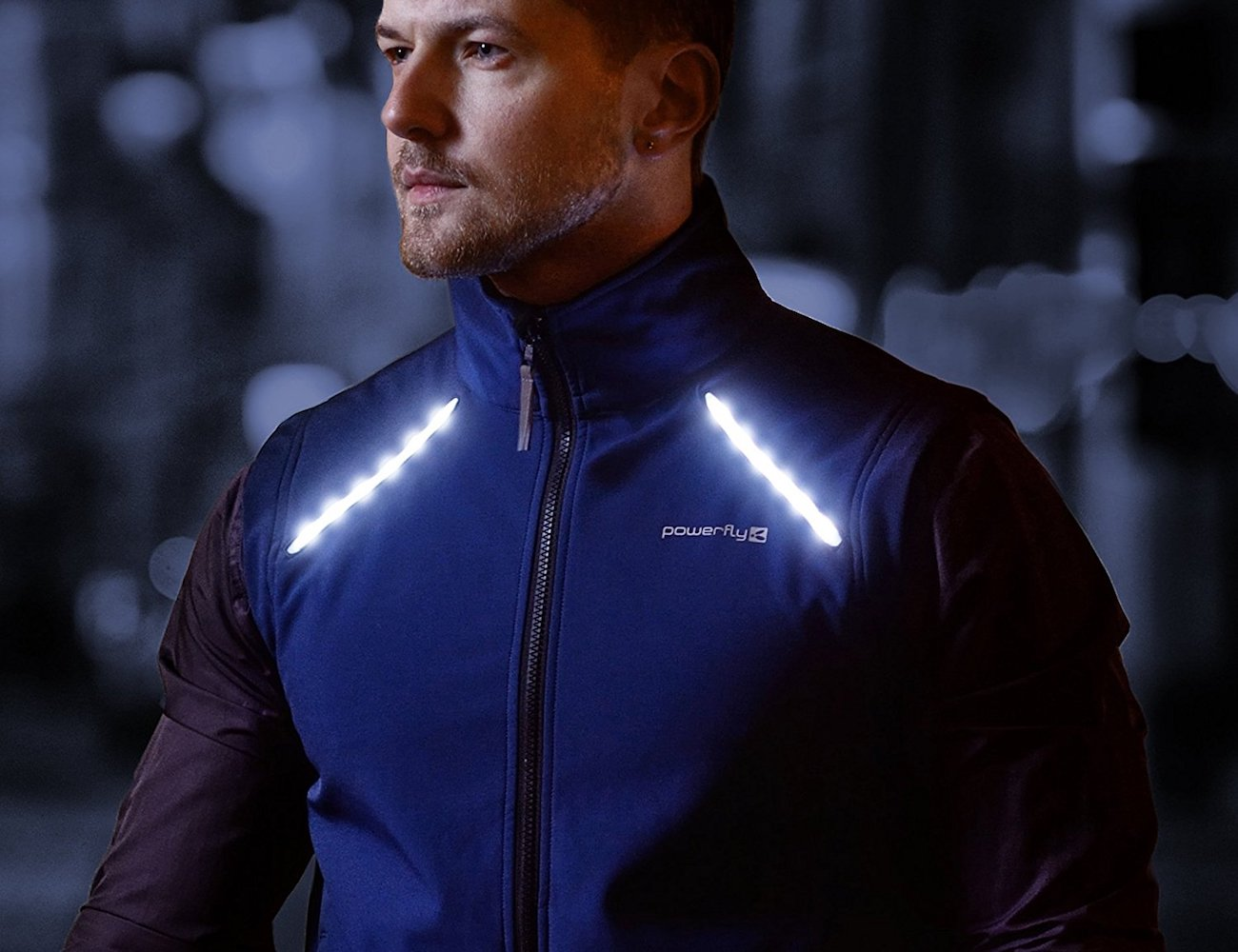 PowerFly LED Cycling Vest