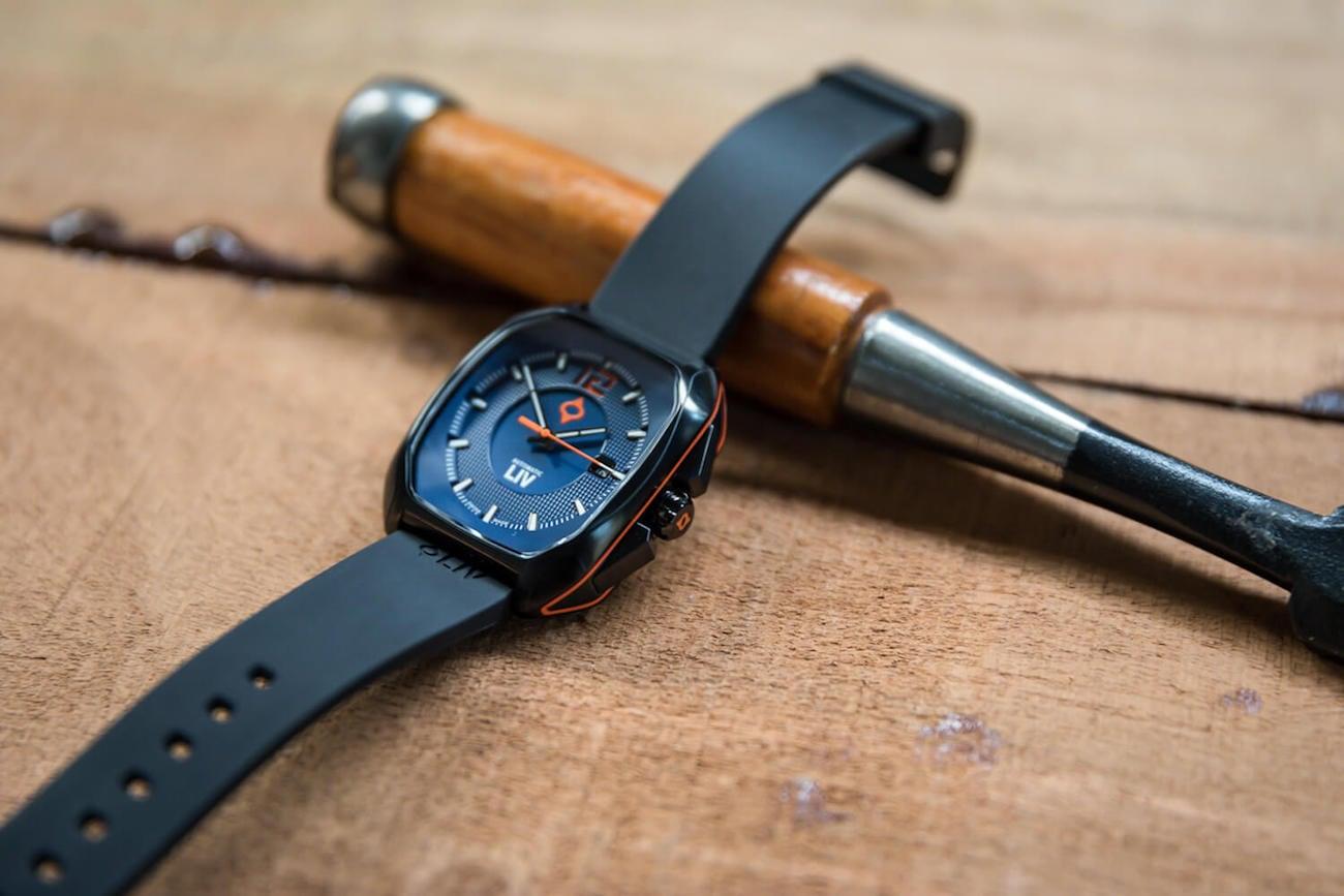 Rebel-A Swiss Automatic Three Hand Watch