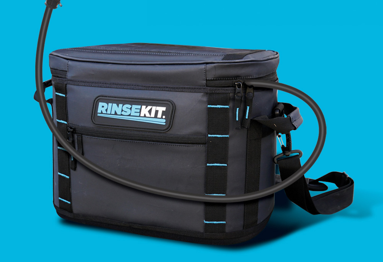 RinseKit LUX Soft Tote Portable Shower