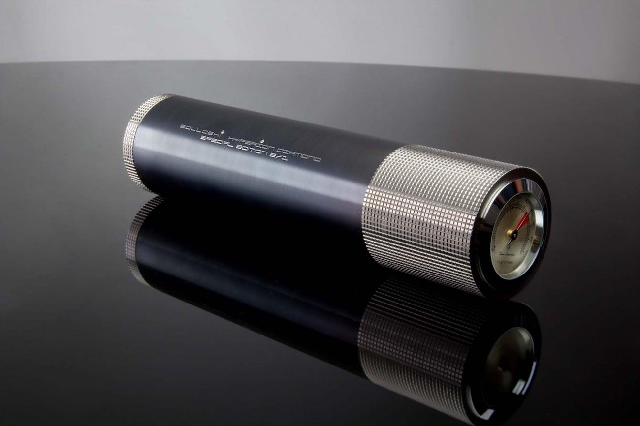 Solloshi Hyperion Titanium Cigar Travel Case