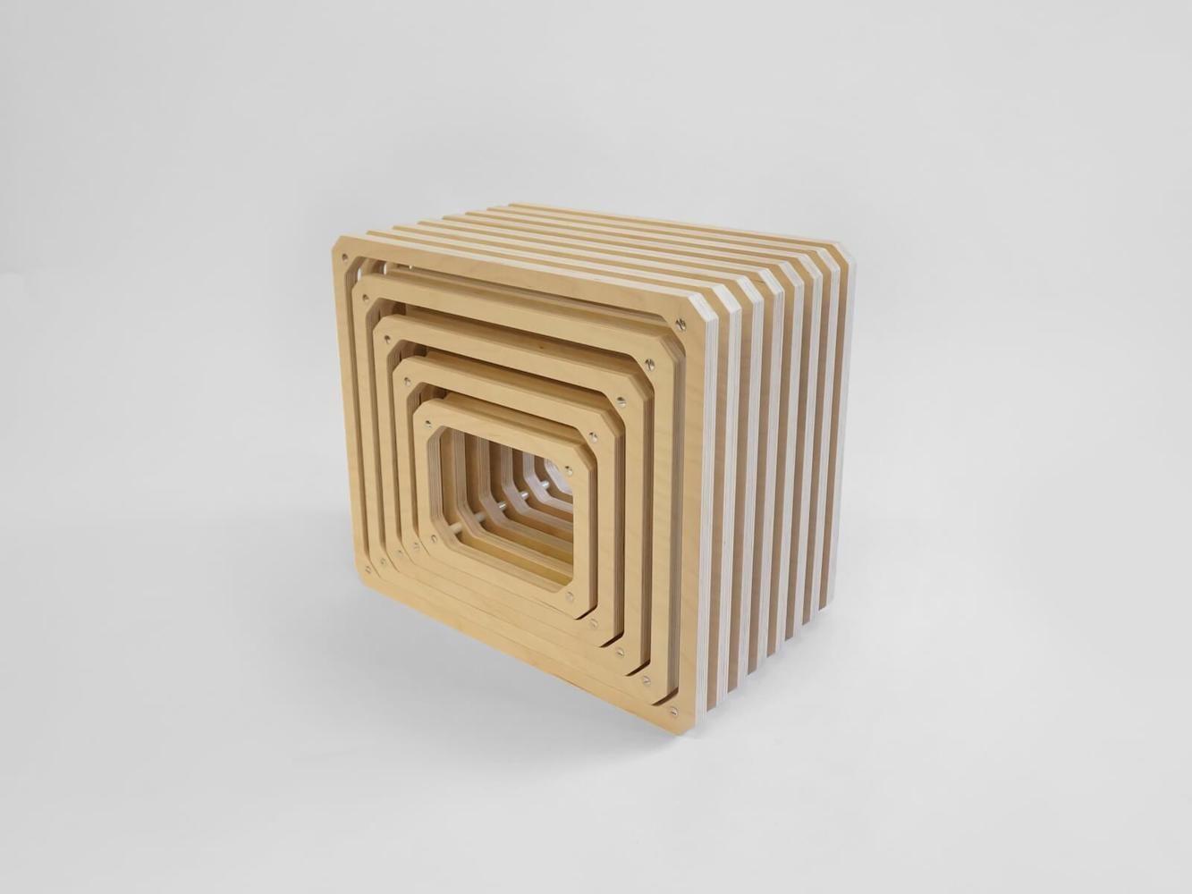 Studio Lorier Parallel Wood Shelving