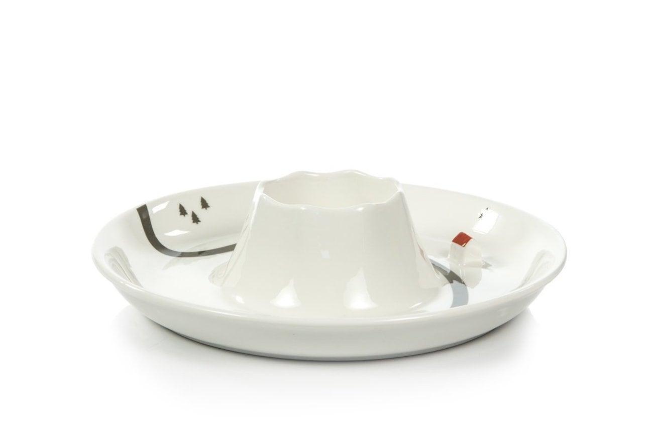Suck UK Ceramic Volcano Dip Bowl