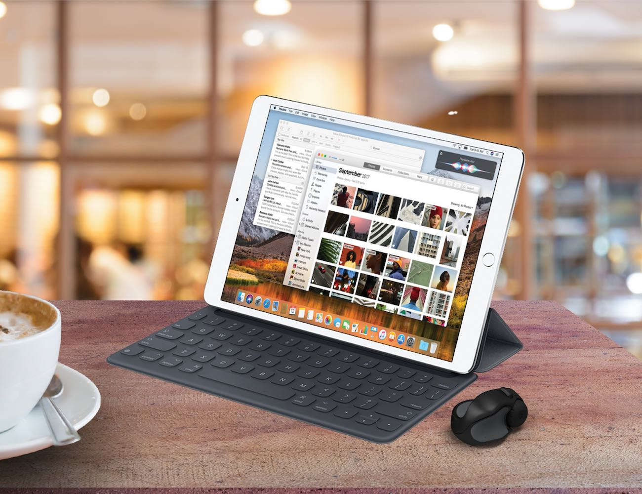 Swiftpoint GT Ergonomic iPad Travel Mouse