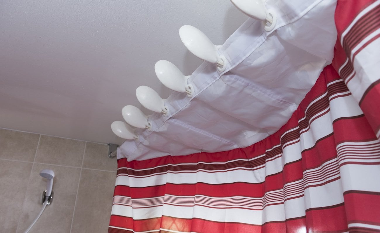 Symmetry Shower Curtain System