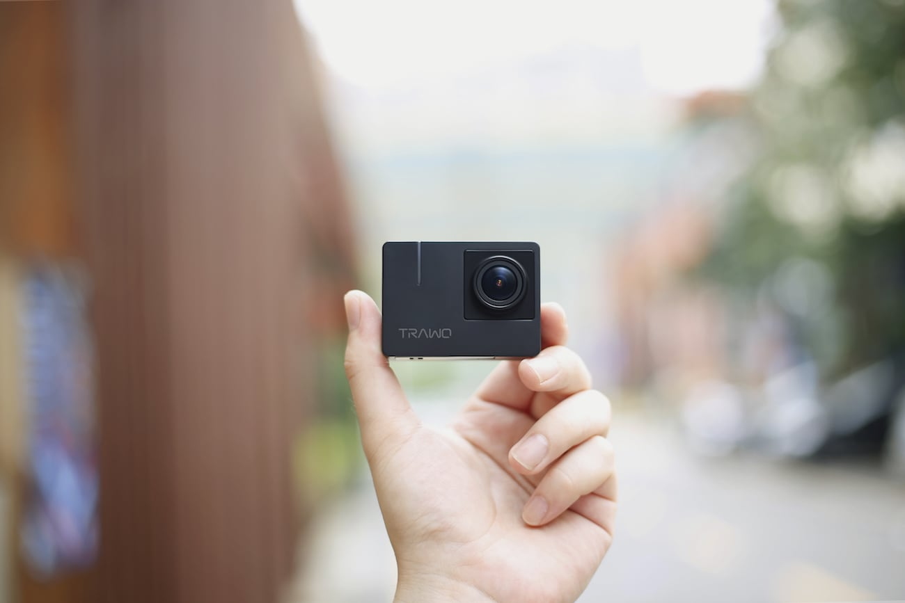 TRAWO Ultimate 4K Action Camera