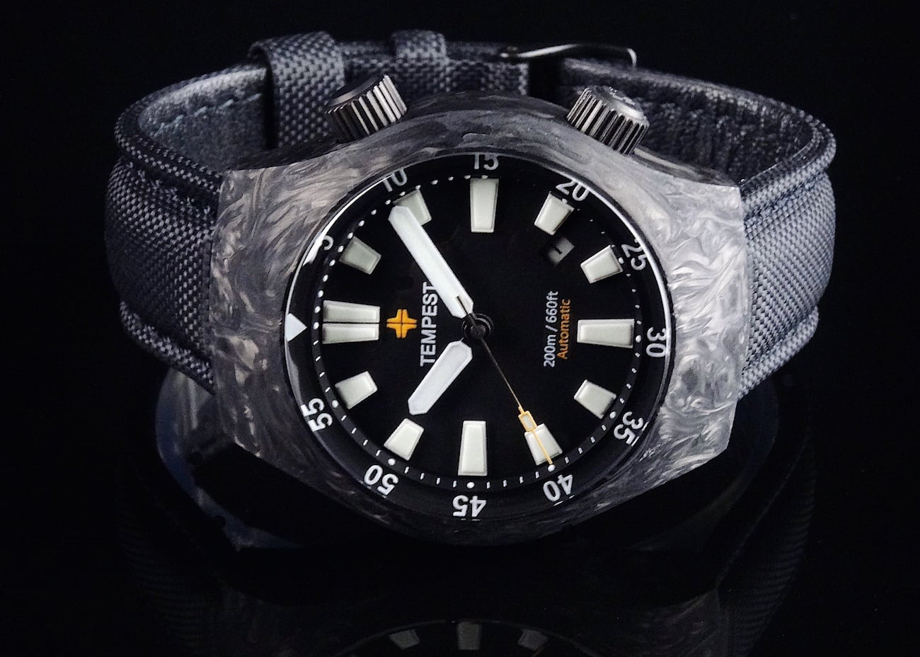 Tempest Carbon 2 Forged Carbon Watch