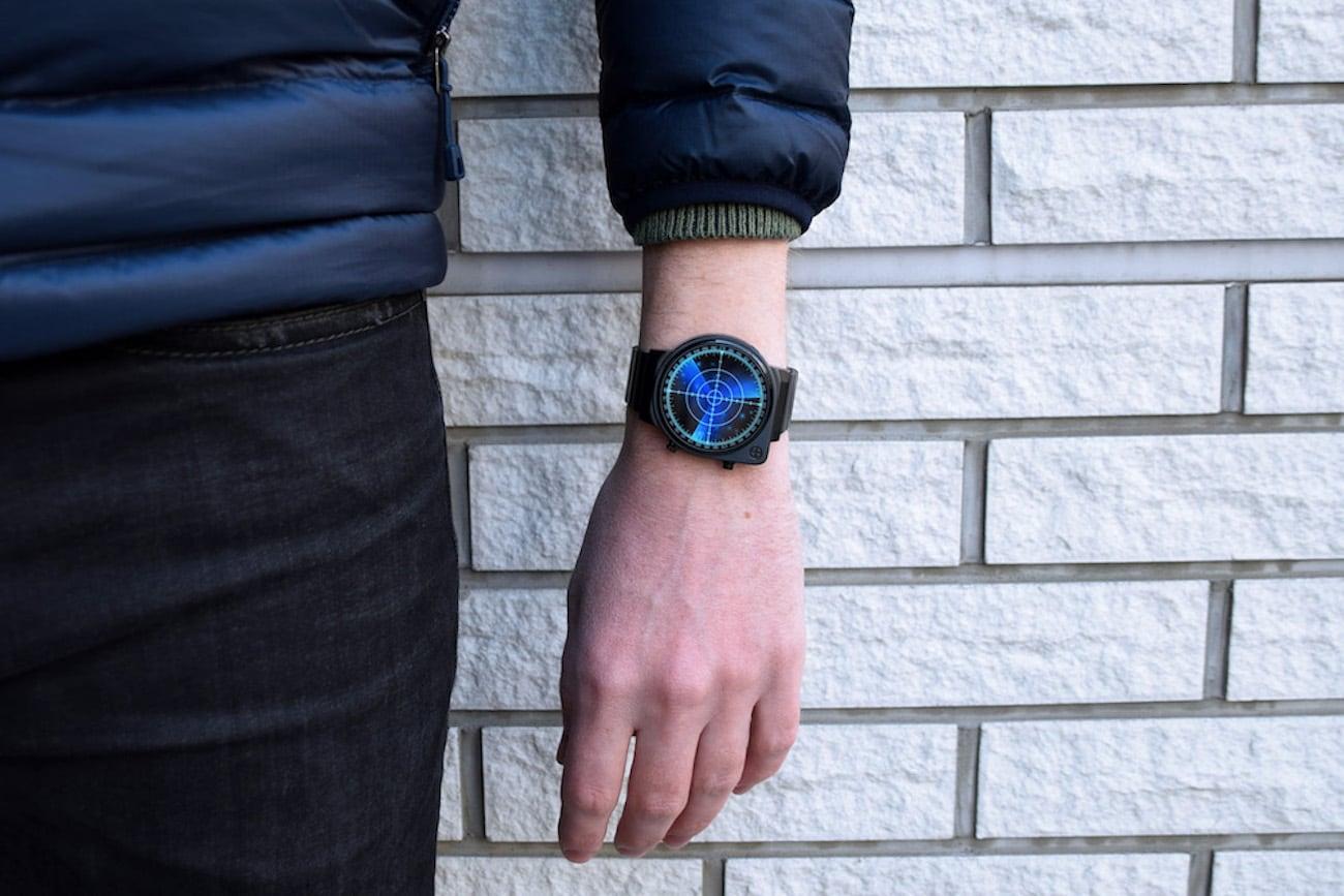 Tokyoflash Japan Radar LED Watch