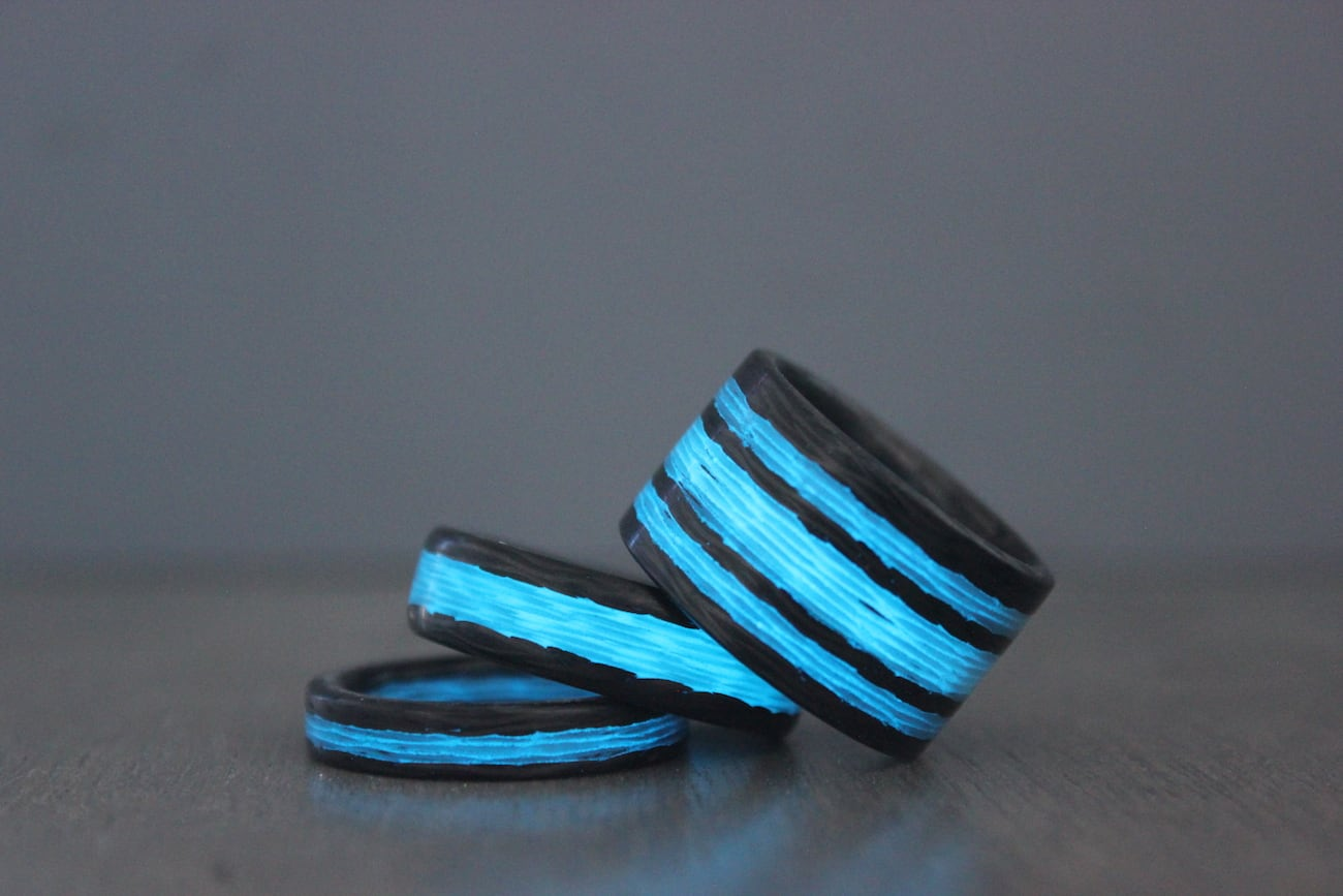 Triton Carbon Fiber Glow Rings