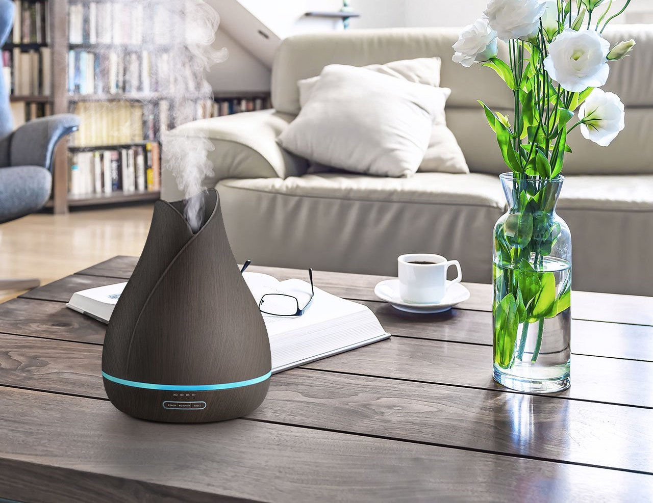 VicTsing Ultrasonic Essential Oil Diffuser