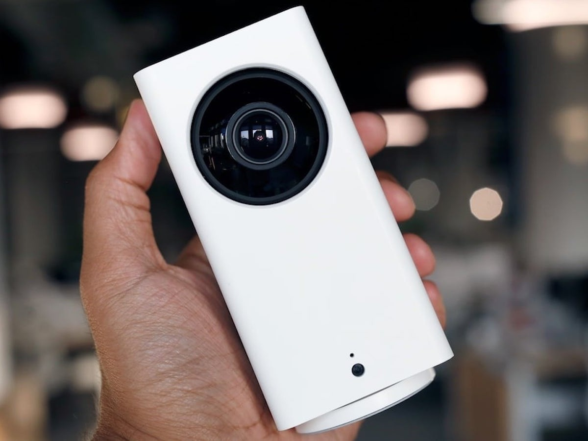 Wyze Cam Pan Smart Home Security Camera provides 360º coverage