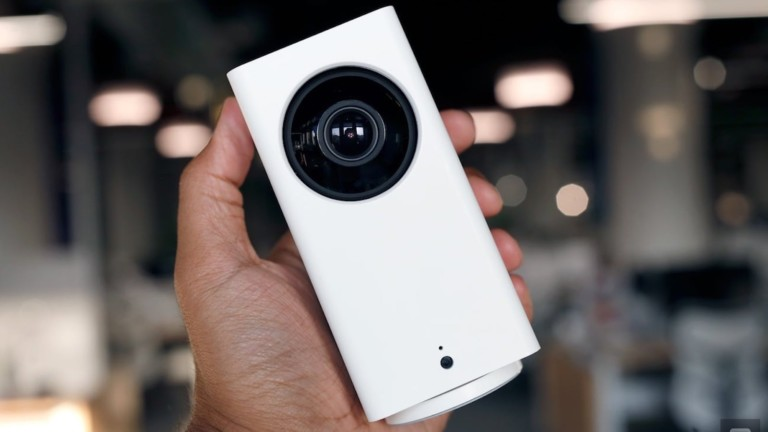Wyze Cam Pan Smart Home Security Camera provides 360º coverage